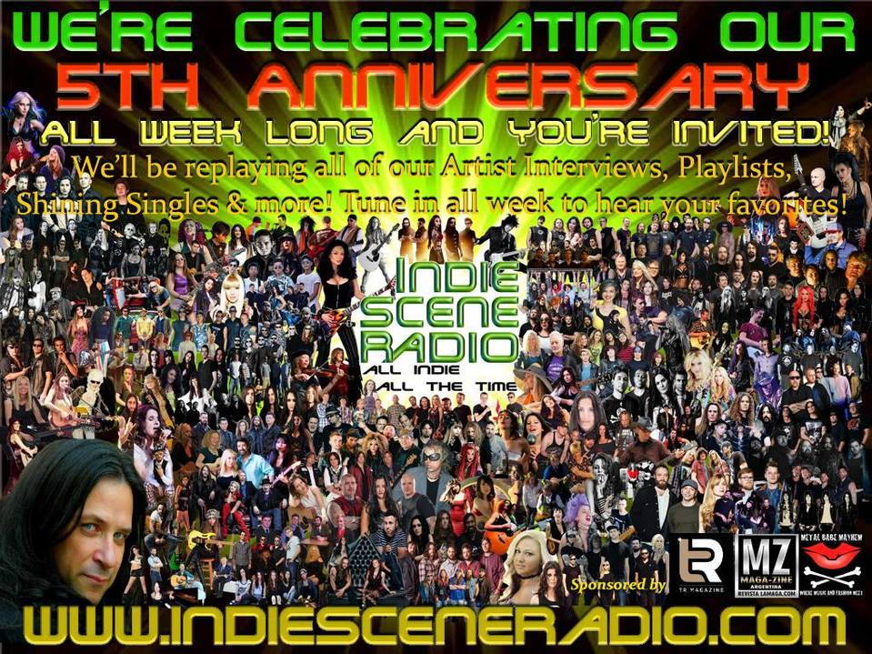 "INDIE SCENE RADIO ""All Indie All The time"""
